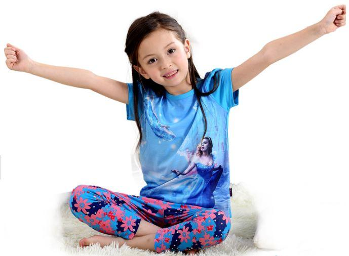 """Пижама """"Золушка"""", с коротким рукавом 2 года"""