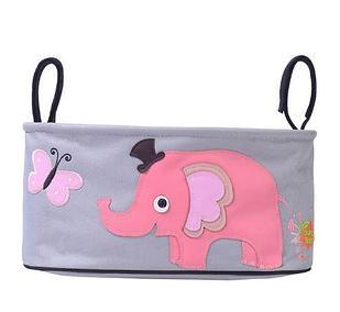 """Карман для коляски """"Розовый слон"""""""