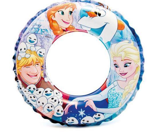 Круг для плавания Холодное сердце 51 см, от 3-6 лет