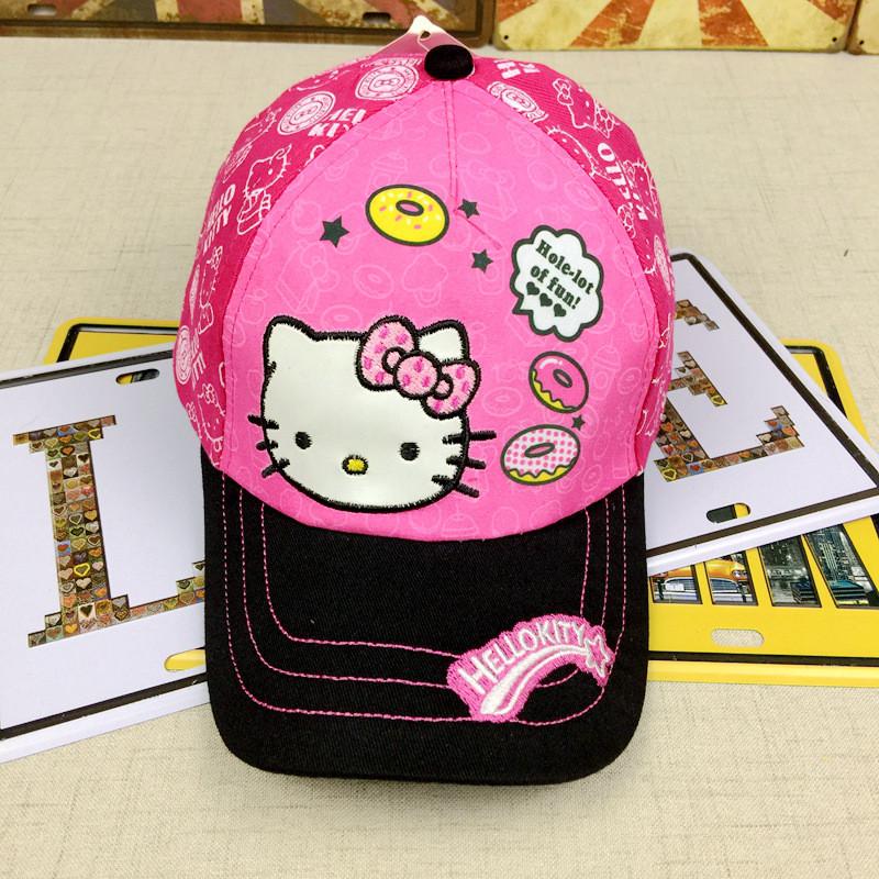 "Кепка  ""Hello Kitty"" для детей от 3 до 6 лет"