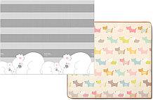 Игровой рулонный коврик Коалы+Щеночки  2*1,5м*1см