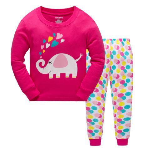 Пижама со слоником, на 7 лет.