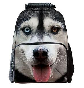 "Рюкзак 3 d ""Собака"", модель №2"