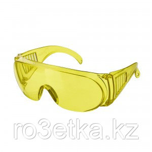 Очки защитные открытые  (тип Люцерна) желтые