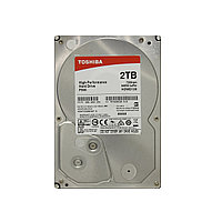 Жесткий диск внутренний Toshiba Р 300 2Тб HDD 3,5 SATA HDWD120EZSTA