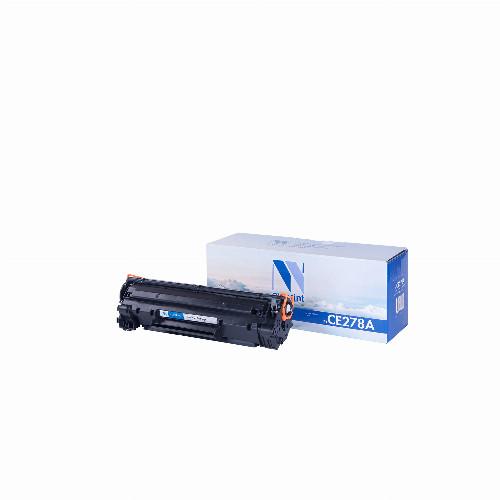 Лазерный картридж NV Print NV-CE278X (Совместимый (дубликат) Черный - Black) NV-CE278X