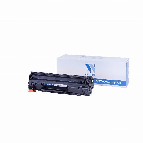 Лазерный картридж NV Print NV-CE278A/NV-728 (Совместимый (дубликат) Черный - Black) NV-CE278A/728