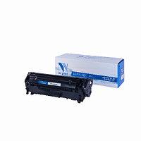 Лазерный картридж NV Print NV-Q2612A/NV-FX-10/703 (Совместимый (дубликат) Черный - Black) NV-Q2612A/FX10/703