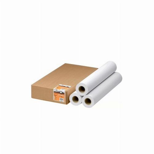 """Бумага для плоттеров (рулонная) Canon Standard Paper-3 рулона (А0+, 2"""" 50.8 мм, 50м, 80г/м2, Матовая,"""