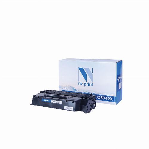 Лазерный картридж NV Print NV-Q5949X (Совместимый (дубликат) Черный - Black) NV-Q5949X