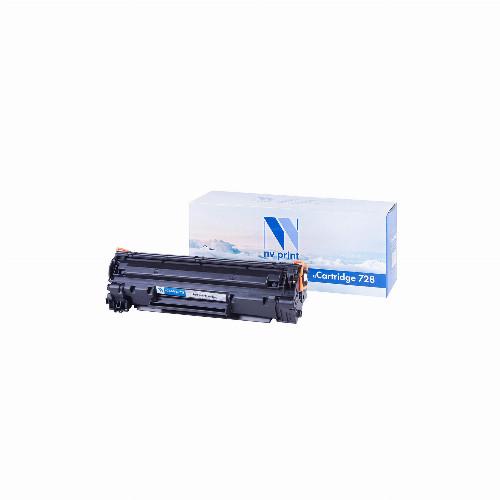 Лазерный картридж NV Print NV-728 (Совместимый (дубликат) Черный - Black) NV-728
