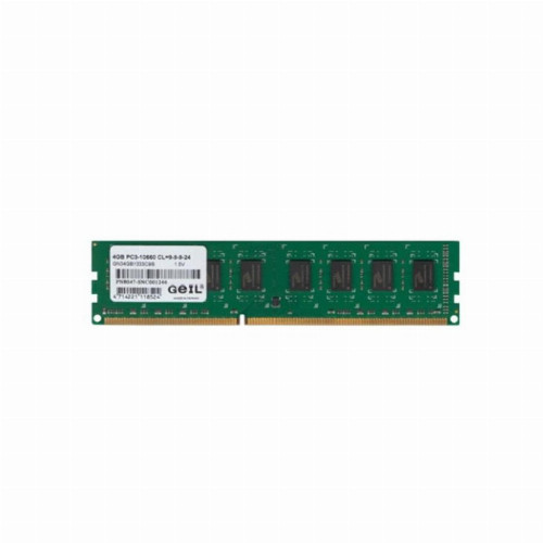 Оперативная память (ОЗУ) Geil GN44GB2400C17S (4 Гб, DIMM, 2400 МГц, DDR4, non-ECC, Unregistered)