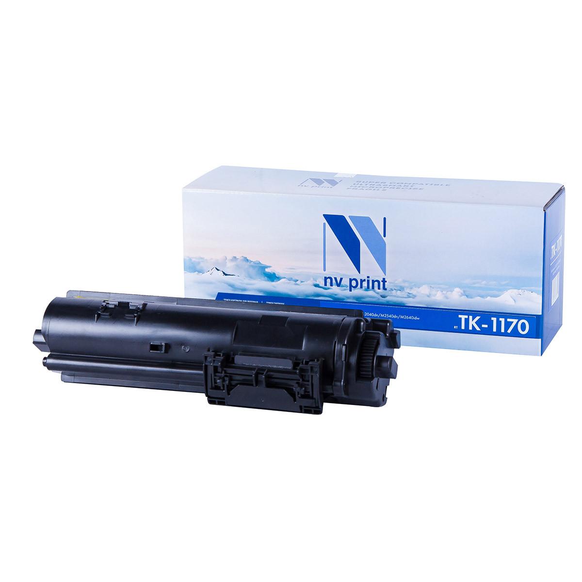 Тонер картридж NV Print NV-TK-1170 (БЕЗ ЧИПА) (Совместимый (дубликат) Черный - Black) NV-TK1170NC