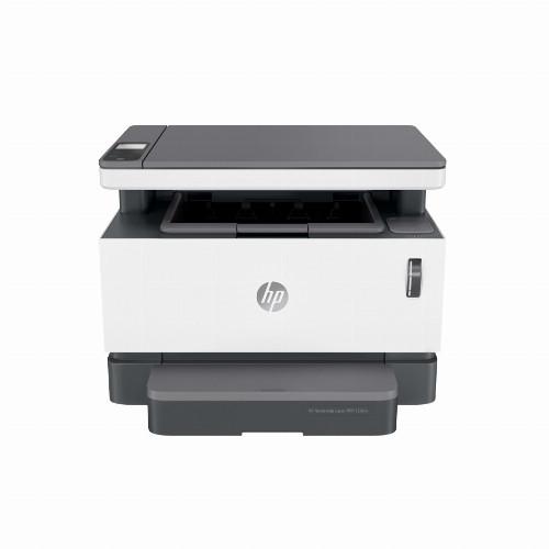 МФУ HP Neverstop Laser MFP 1200w B (Лазерный, A4, Монохромный (черно - белый), USB, Wi-fi, Планшетный) 4RY26A