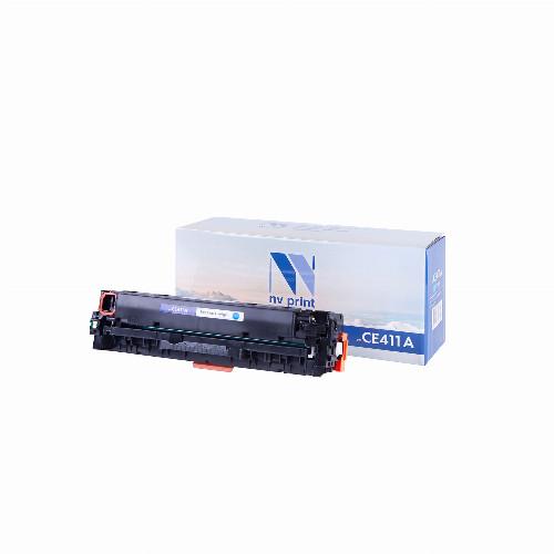 Лазерный картридж NV Print NV-CE411A (Совместимый (дубликат) Голубой - Cyan) NV-CE411AC