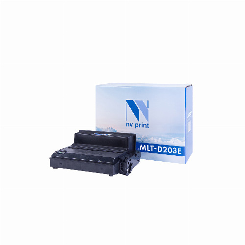 Лазерный картридж NV Print NV-MLT-D203E (Совместимый (дубликат) Черный - Black) NV-MLTD203E
