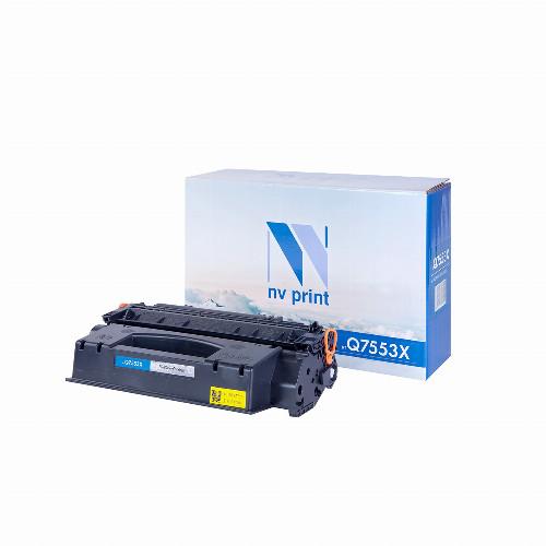 Лазерный картридж NV Print NV-Q7553X (Совместимый (дубликат) Черный - Black) NV-Q7553X