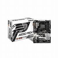 Материнская плата ASRock AB350 PRO4 (Standard-ATX, AM4, AMD B350, 4 x DDR4, 64 Гб) AB350 PRO4