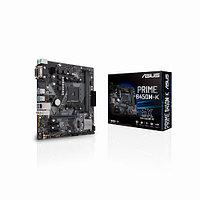 Материнская плата Asus PRIME B450M-K (Micro-ATX, AM4, AMD B450, 2 x DDR4, 32 Гб) PRIME B450M-K