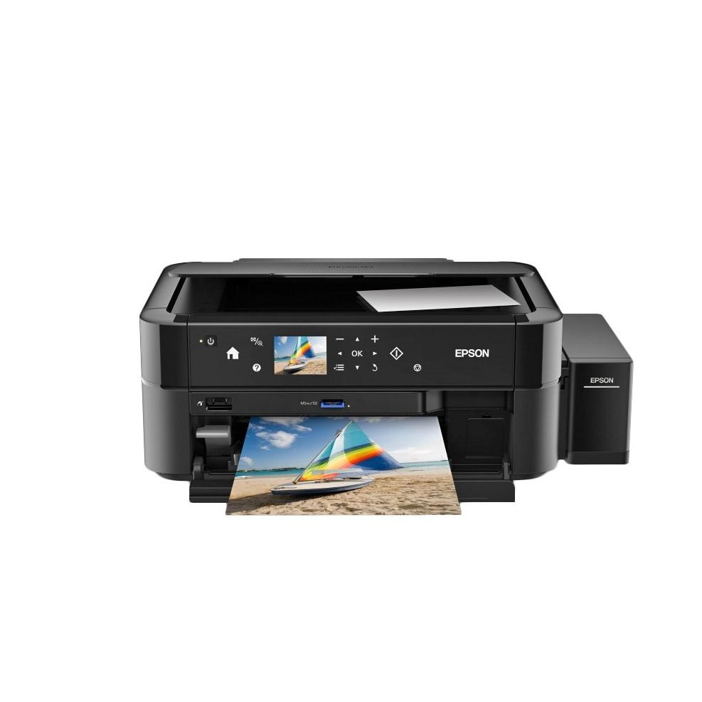 МФУ Epson Epson L850 Color (Струйный, A4, Цветной, USB, Планшетный) C11CE31402