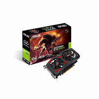Видеокарта Asus CERBERUS GeForce GTX1050Ti (Nvidia, 4 Гб, GDDR5, 128 бит, PCI-E 3.0 x 16, 1 x DVI-D, 1 x HDMI, 1 x Display port, Без дополнительного
