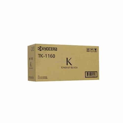 Тонер картридж Kyocera TK-1160 (Оригинальный Черный - Black) 1T02RY0NL0