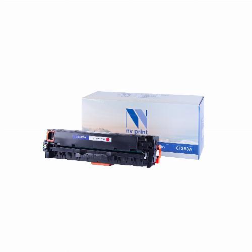 Лазерный картридж NV Print NV-CF383A (Совместимый (дубликат) Пурпурный - Magenta) NV-CF383AM