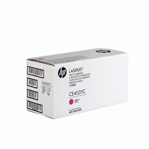 Лазерный картридж HP CE403YC (Оригинальный, Пурпурный - Magenta) CE403YC