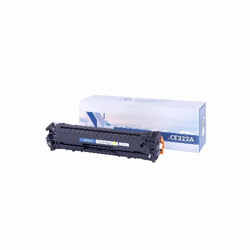 Лазерный картридж NV Print CE322A (Совместимый (дубликат) Желтый - Yellow) NV-CE322AY