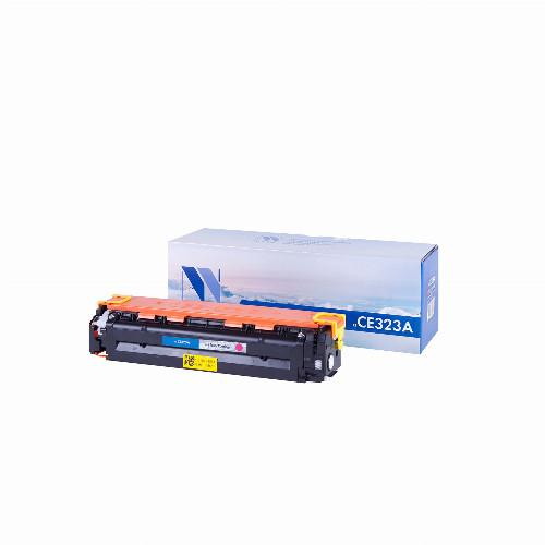 Лазерный картридж NV Print CE323A (Совместимый (дубликат) Пурпурный - Magenta) NV-CE323AM