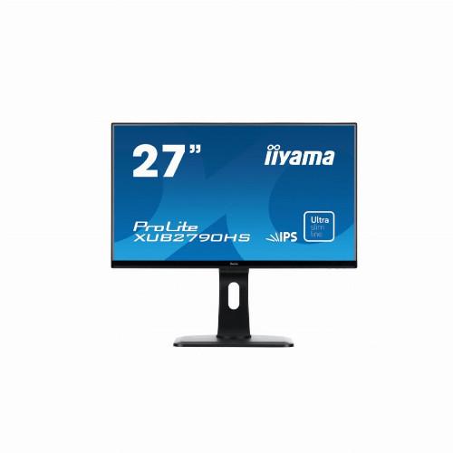 "Монитор Iiyama Pro lite XUB2790HS-B1 (27"" / 68,58см, 1920 x 1080 (Full HD), IPS, 16:9, 250 кд/м2, 5 мс,"