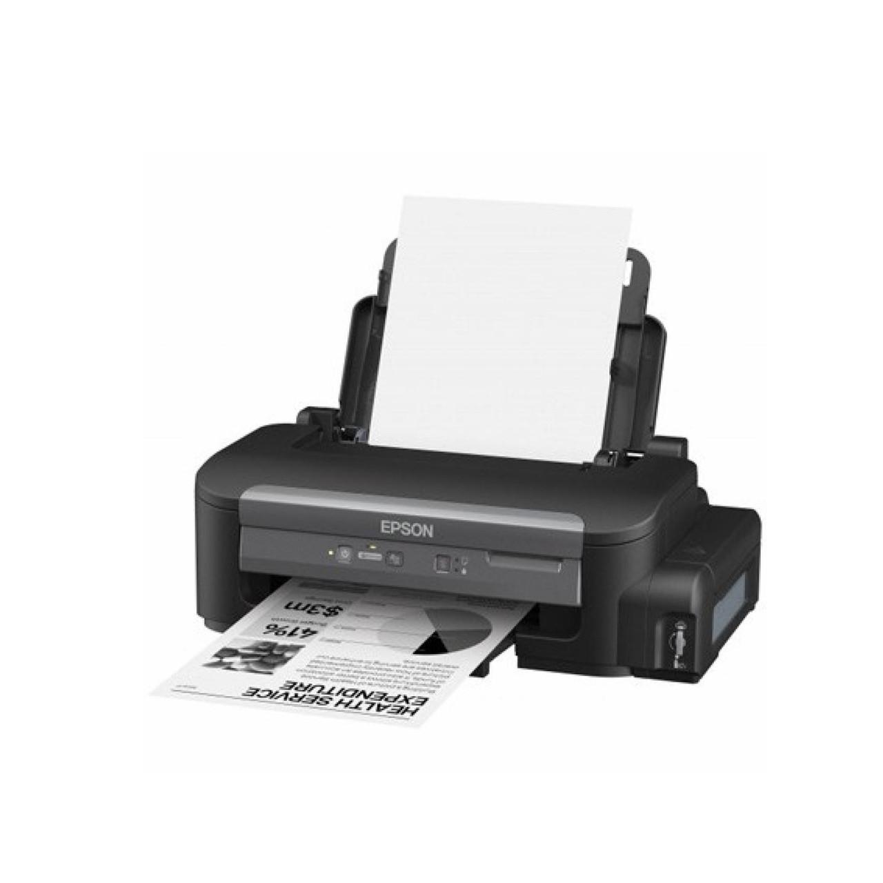 Принтер Epson M100 B (А4, Струйный, Монохромный (черно - белый), USB, Ethernet) C11CC84311