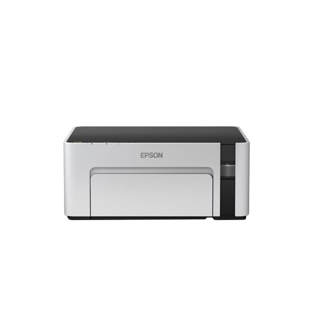 Принтер Epson Epson M1120 B (А4, Струйный, Монохромный (черно - белый), USB, Wi-fi) C11CG96405