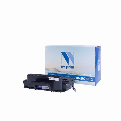 Лазерный картридж NV Print NV-106R02312 (Совместимый (дубликат) Черный - Black) NV-106R02312