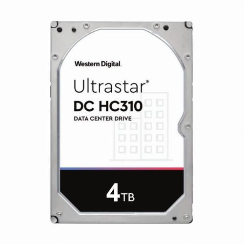 Жесткий диск внутренний Western Digital (WD) Ultrastar DC HC310 (4Тб (4000Гб), HDD, 3,5″, Для серверов, SATA)