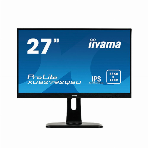 "Монитор Iiyama Pro lite 27"" / 68.58см 2560х1440 IPS 16:9 350 кд/м2 5 мс 1000:1 70 Гц XUB2792QSU-W1"