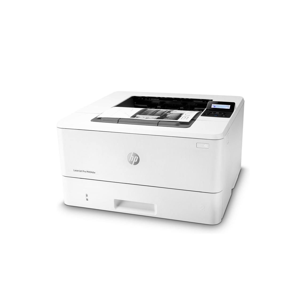 Принтер HP LaserJet Pro M404dn B (А4, Лазерный, Монохромный (черно - белый), USB, Ethernet) W1A53A