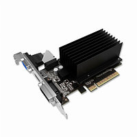 Видеокарта Palit GeForce GT730 (Nvidia, 2 Гб, DDR3, 128 бит, PCI-E 2.0 x 16, 1 x DVI-I, 1 x HDMI, 1 x VGA, Без