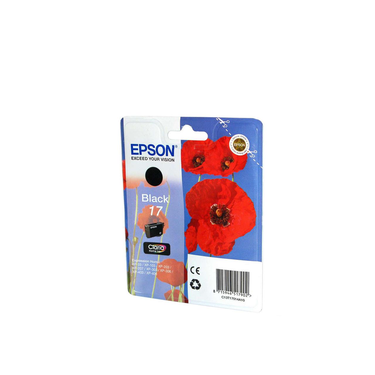 Струйный картридж Epson 17 (Оригинальный, Черный - Black) C13T17014A10