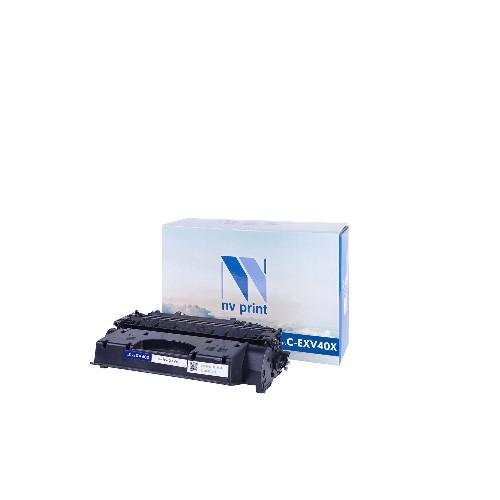 Лазерный картридж NV Print NV-C-EXV40X (Совместимый (дубликат) Черный - Black) NV-CEXV40X