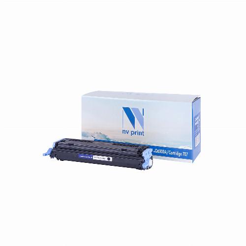 Лазерный картридж NV Print NV-Q6000A/NV-707 (Совместимый (дубликат) Черный - Black) NV-Q6000A/707Bk