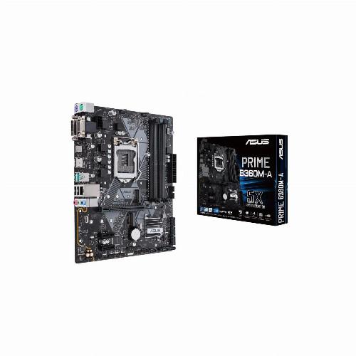 Материнская плата Asus PRIME B360M-A (Micro-ATX, LGA1151, Intel B360, 4 x DDR4, 64 Гб) PRIME B360M-A