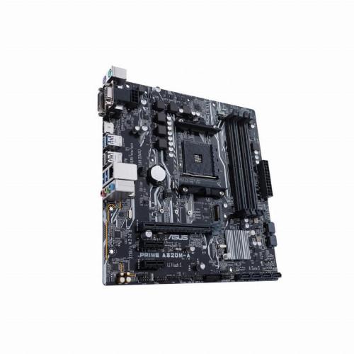 Материнская плата Asus PRIME A320M-A (Micro-ATX, AM4, AMD A320, 4 x DDR4, 64 Гб) PRIME A320M-A