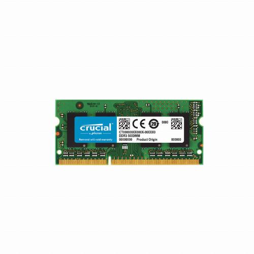 Оперативная память (ОЗУ) Crucial CT51264BF186DJ (4 Гб, SO-DIMM, 1866 МГц, DDR3L, non-ECC, Unregistered)