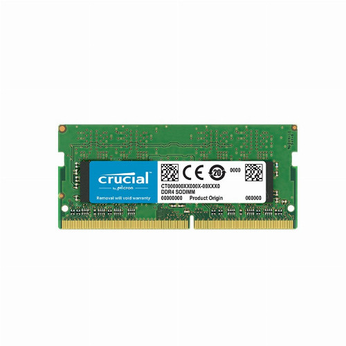 Оперативная память (ОЗУ) Crucial CT8G4SFS832A (8 Гб, SO-DIMM, 3200 МГц, DDR4, non-ECC, Unregistered) CT8G4SFS832A