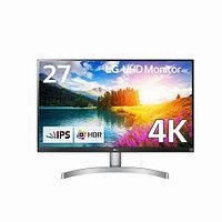 Монитор LG 27UK650-W (3840x2160, IPS, 16:9, 350 кд/м2, 5 мс, 1000:1, 60 Гц, 2 x HDMI, 1 x Display Port,