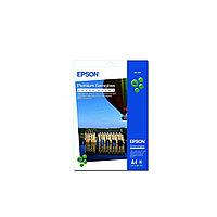 Бумага Epson Premium Semigloss Photo Paper, плотность 251 г/м2 (А4 - 20х30, 20 листов) C13S041332