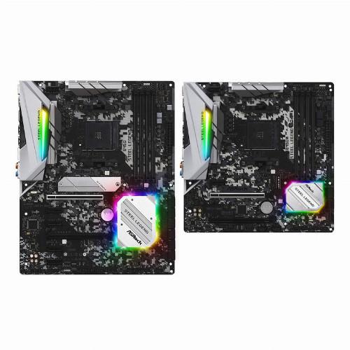 Материнская плата ASRock B450 STEEL LEGEND (Standard-ATX, AM4, AMD B450, 4 x DDR4, 64 Гб) B450 STEEL LEGEND