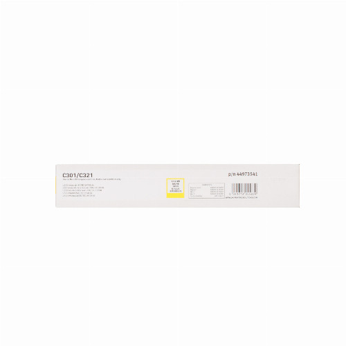 Тонер картридж Oki 44973541 для C301/321/MC332/342 (Оригинальный Желтый - Yellow) 44973541