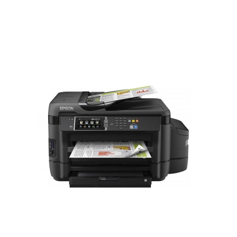 МФУ Epson Epson L1455 Color (Струйный, А3, Цветной, USB, Ethernet, Wi-fi, Планшетный) C11CF49403